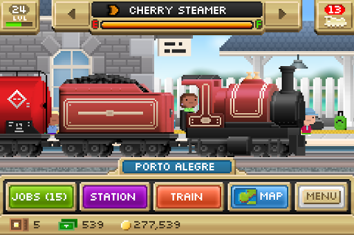 Pocket Trains: Tiny Transport Rail Simulator apktreat screenshots 1
