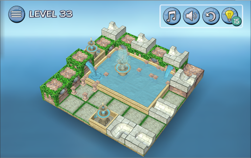 Flow Water Fountain 3D Puzzle 1.2 Screenshots 12