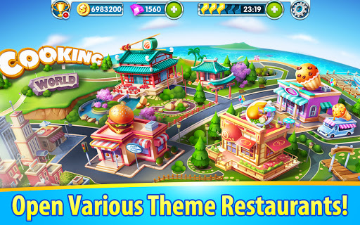 Cooking World - Craze Kitchen Free Cooking Games 2.3.5030 screenshots 16