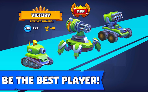 Tanks A Lot! - Realtime Multiplayer Battle Arena 2.75 screenshots 21