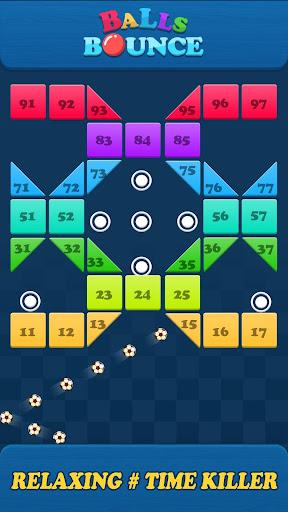 Balls Bounce:Bricks Crasher screenshots 2