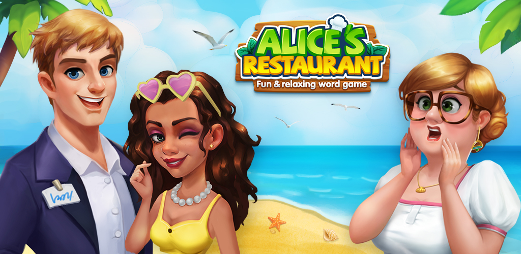 Alice's Restaurant - Fun & Relaxing Word Game poster 0