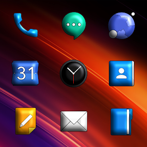 Oxigen 3D – Icon Pack Apk 2.3.7 (Paid/Patched) 2