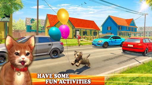 Pet Cat Simulator Family Game Home Adventure 1.5 screenshots 1