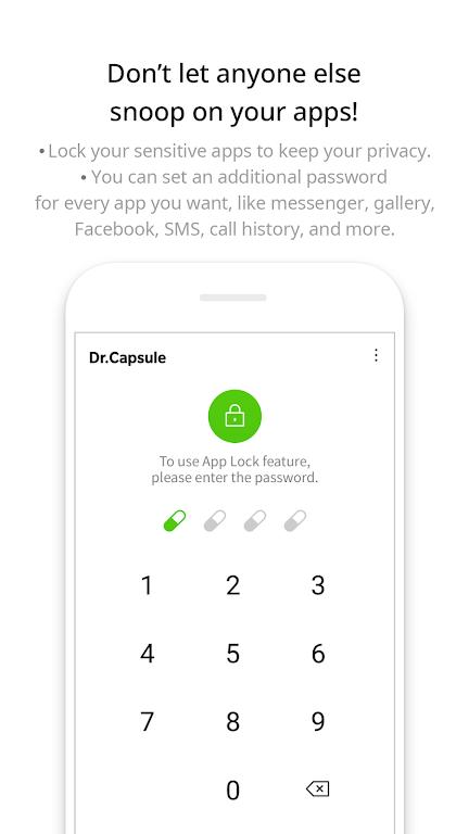 Dr.Capsule - Antivirus, Cleaner, Booster  poster 2