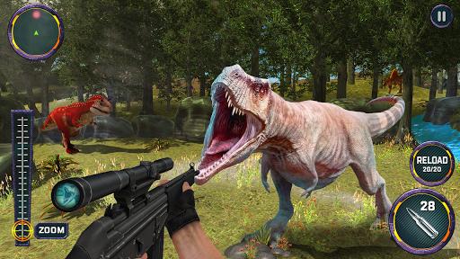 Dino Hunter 3D - Dinosaur Survival Games 2021 Apkfinish screenshots 2