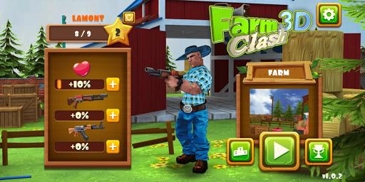 farm clash 3d - reckless pvp shooter screenshot 1