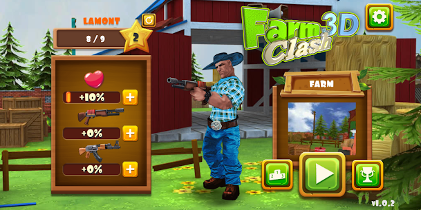 Farm Clash 3D – Reckless PvP Shooter Game Hack Android and iOS 1