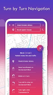 Real-time GPS, Maps, Routes, Direction and Traffic 4