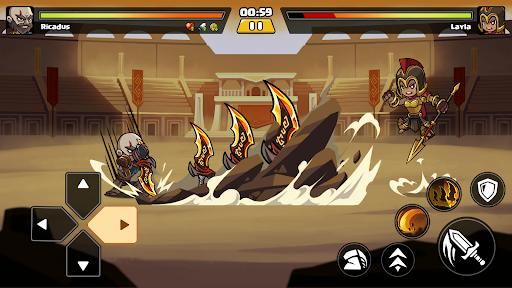 Brawl Fighter - Super Warriors Fighting Game  screenshots 16