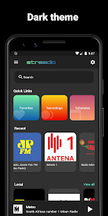 Streadio Radio Recorder and Player (Formerly Cue)