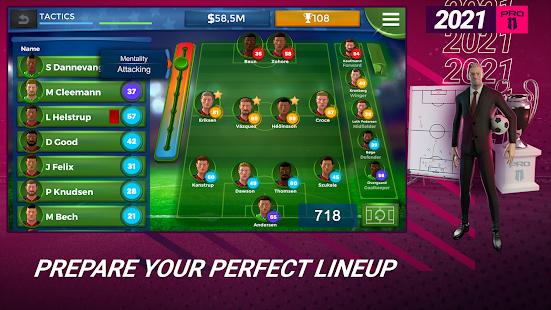 Pro 11 - Football Management Game 1.0.82 Screenshots 1