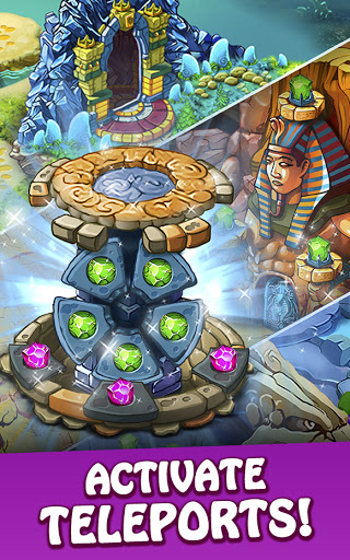 Magica Travel Agency: Match 3 Games, Jigsaw Puzzle  screenshots 7