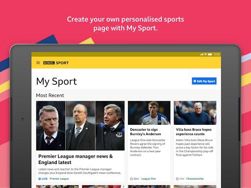 BBC Sport - News & Live Scores apktram screenshots 12