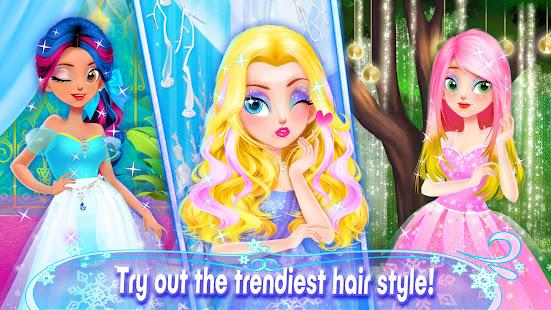 Girl Games: Princess Hair Salon Makeup Dress Up 1.9 Screenshots 8