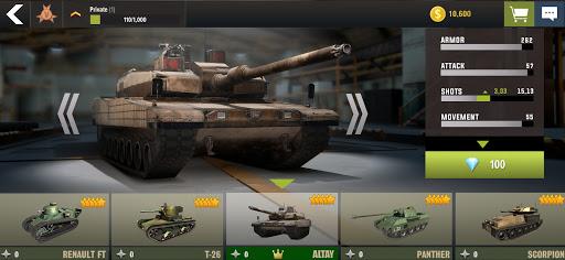 War Machines: Tank Battle - Army & Military Games  screenshots 20