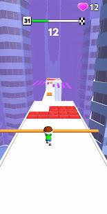 Roof Run: Slide Roof Rails - simple fun game