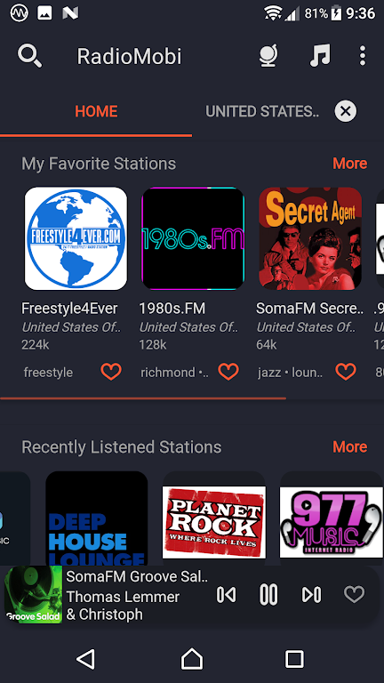 80000+ Free FM Stations - Radio Mobi - World Radio  poster 4