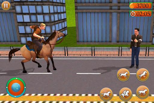 Offroad Horse Taxi Driver – Passenger Transport apktreat screenshots 2