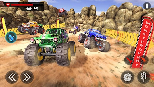 Monster Truck Destruction : Mad Truck Driving 2020 8