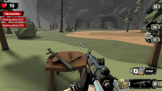The Walking Zombie 2: Zombie shooter Mod Apk