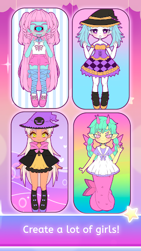 Mimistar - Pastel chibi doll girl dress up maker  screenshots 19