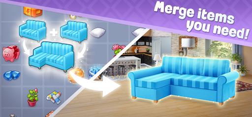 Merge Design: Home Renovation & Mansion Makeover 1.3.1 screenshots 3