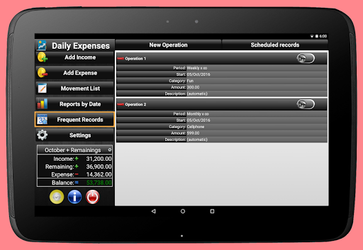 Daily Expenses 2: Personal finance android2mod screenshots 21