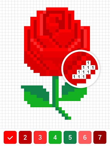 Draw.ly - Color by Number Pixel Art Magic Coloring 3.0.8 screenshots 10