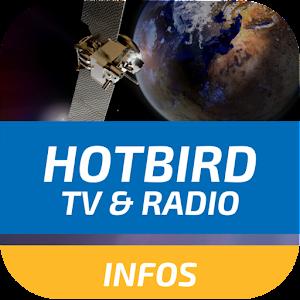 HotBird TV and RADIO Channels INFOS 2.1 by FILIPO DEV logo