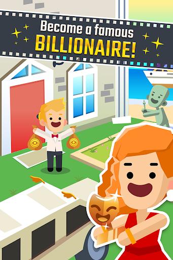 Hollywood Billionaire - Rich Movie Star Clicker  screenshots 2