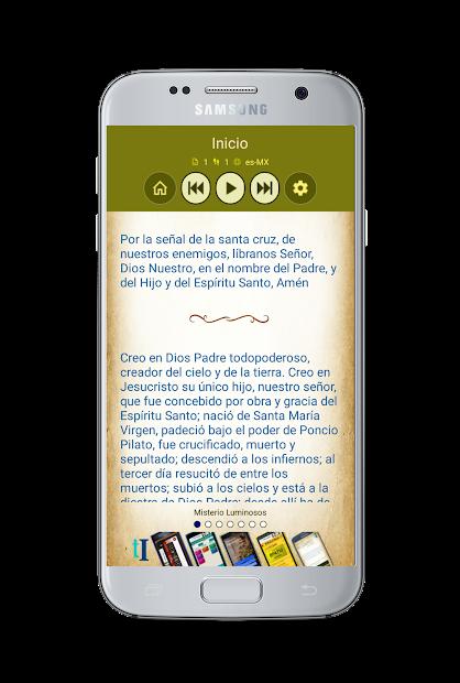 Screenshot 9 de Santo Rosario con Audio para android
