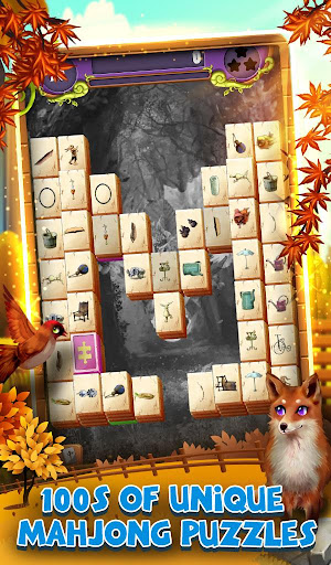 Mahjong Solitaire: Grand Autumn Harvest  screenshots 8