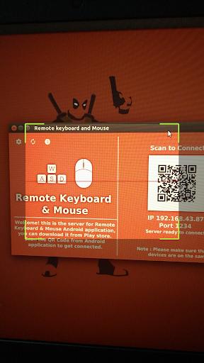 Foto do Remote Keyboard & Mouse