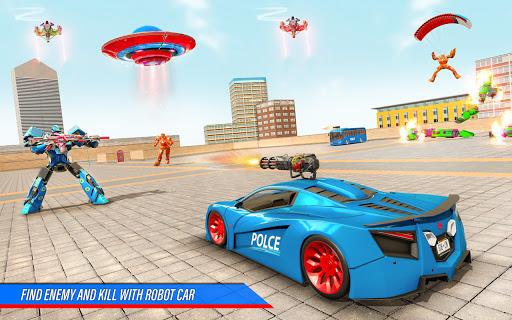 Bus Robot Car War - Robot Game  screenshots 3