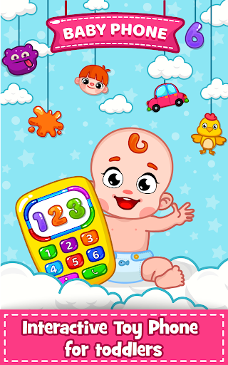 Baby Phone for toddlers - Numbers, Animals & Music 3.3 screenshots 1