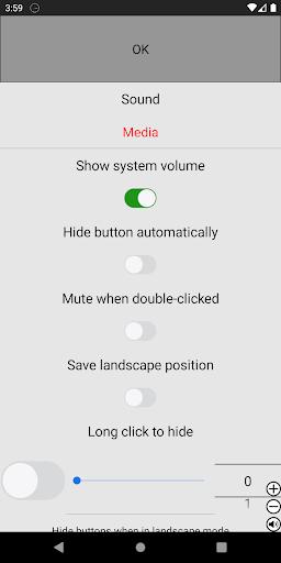 Always visible volume button Apkfinish screenshots 2