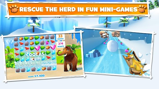 Download Ice Age Adventures Ice Age game for Android + mod + data 3