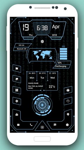 High Style Launcher 2020 - hitech homescreen theme 37.0 Screenshots 4