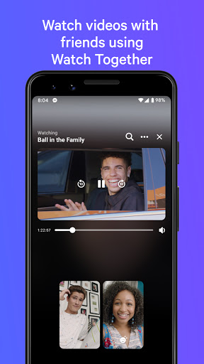 Messenger – Text and Video Chat for Free poster