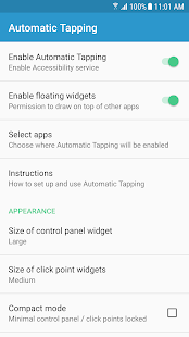 Automatic Tapping: Auto Clicker/Record&Replay Taps Screenshot