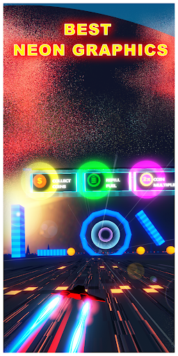 chase the sun 3d - neon racer screenshot 2