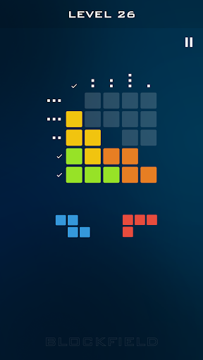 blockfield - block pieces puzzle touch simple game screenshot 2