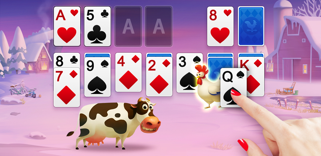 Solitaire - My Farm Friends poster 0
