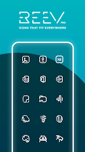 Reev Pro - Icon Pack 3.8.4 (Patched)