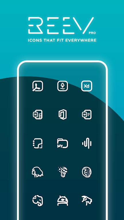Reev Pro - Icon Pack  poster 0