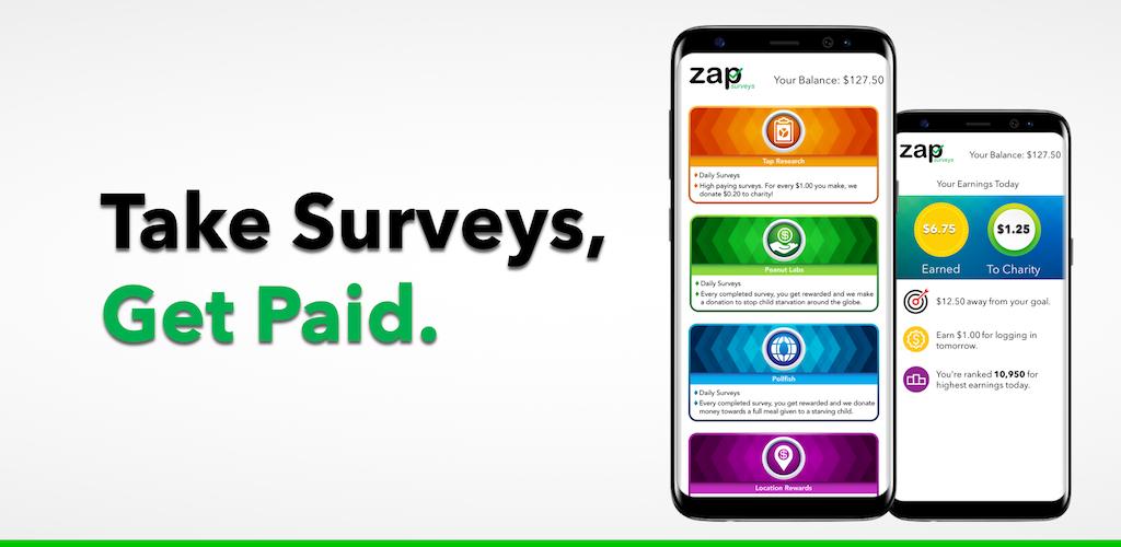 Zap Surveys Earn Money And Gift Cards 3 03 Apk Download Com Zap Surveys Apk Free