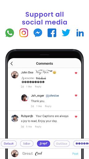 Fonts Keyboard - FancyKey, Emojis & Stylish Fonts 3.5 Screenshots 3
