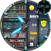 Monster Hybrid Watch Face For WatchMaker Users