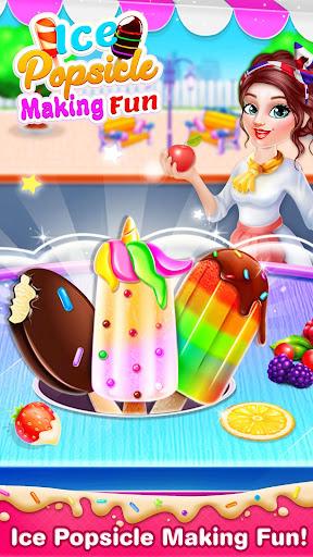 Unicorn Ice Cream Pop & Popsicles-Ice Cream Games 0.4 screenshots 1